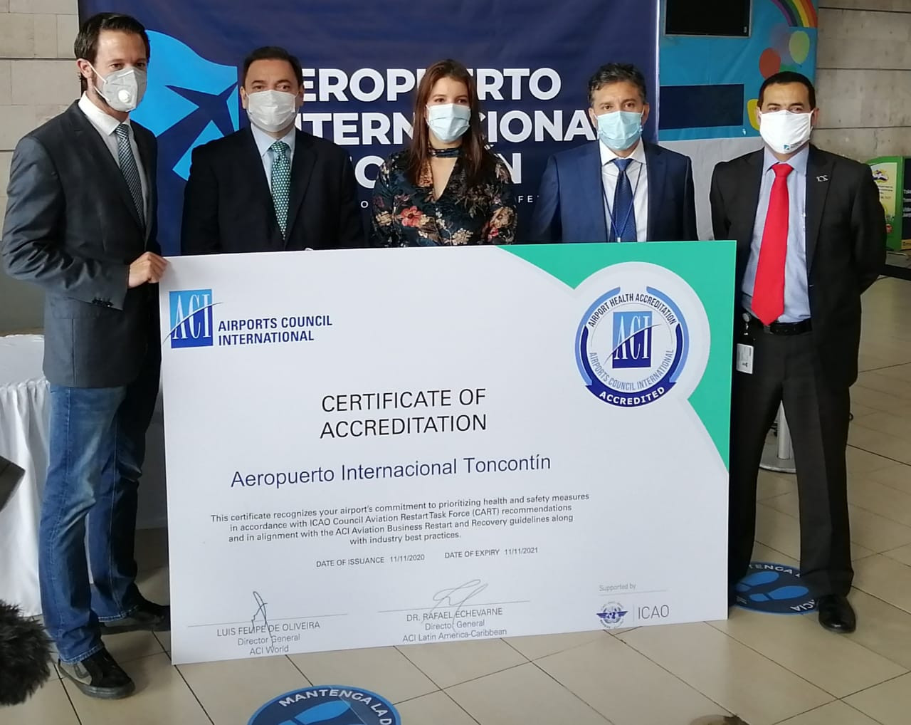 Noticias-Aeropuerto-Tegucigalpa-Honduras-Toncontín-PIA y Múnich logran que Toncontín obtenga certificado internacional de bioseguridad