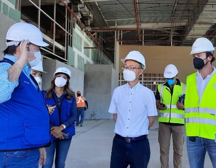 Noticias-Aeropuerto-Tegucigalpa-Honduras-Toncontín-Avianca y Embajador de Corea del Sur visitan Palmerola