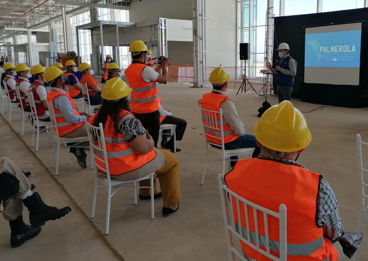 Presentan plan de seguridad del Aeropuerto de Palmerola