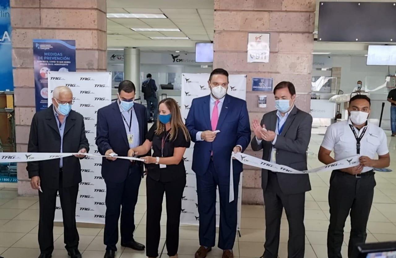 Noticias-Aeropuerto-Tegucigalpa-Honduras-Toncontín-CM Airlines abre nueva ruta aérea entre Tegucigalpa y San Salvador