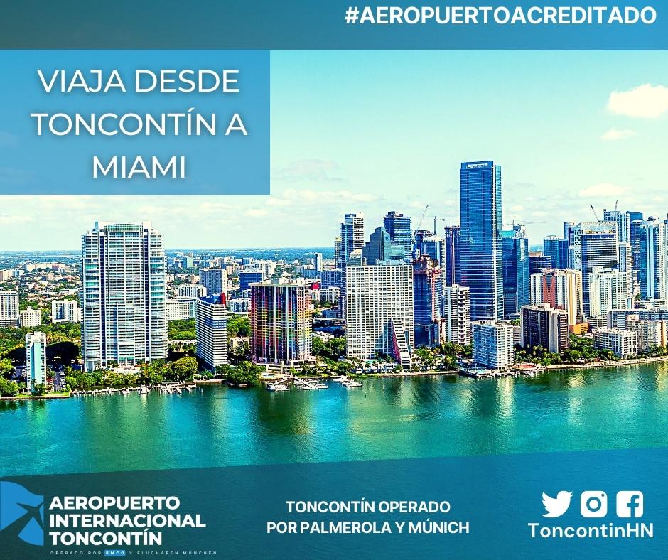 Aeropuerto-Tegucigalpa-Honduras-Toncontín-Conexión-Miami