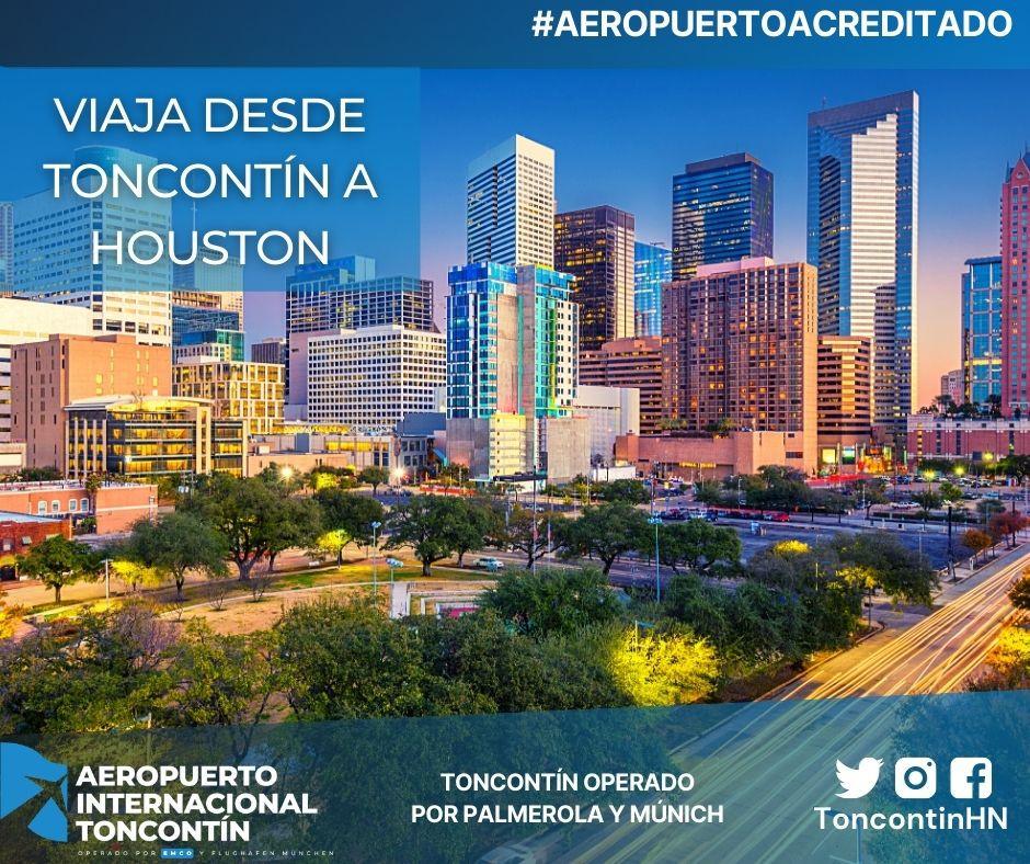 Aeropuerto-Tegucigalpa-Honduras-Toncontín-Conexión-Houston