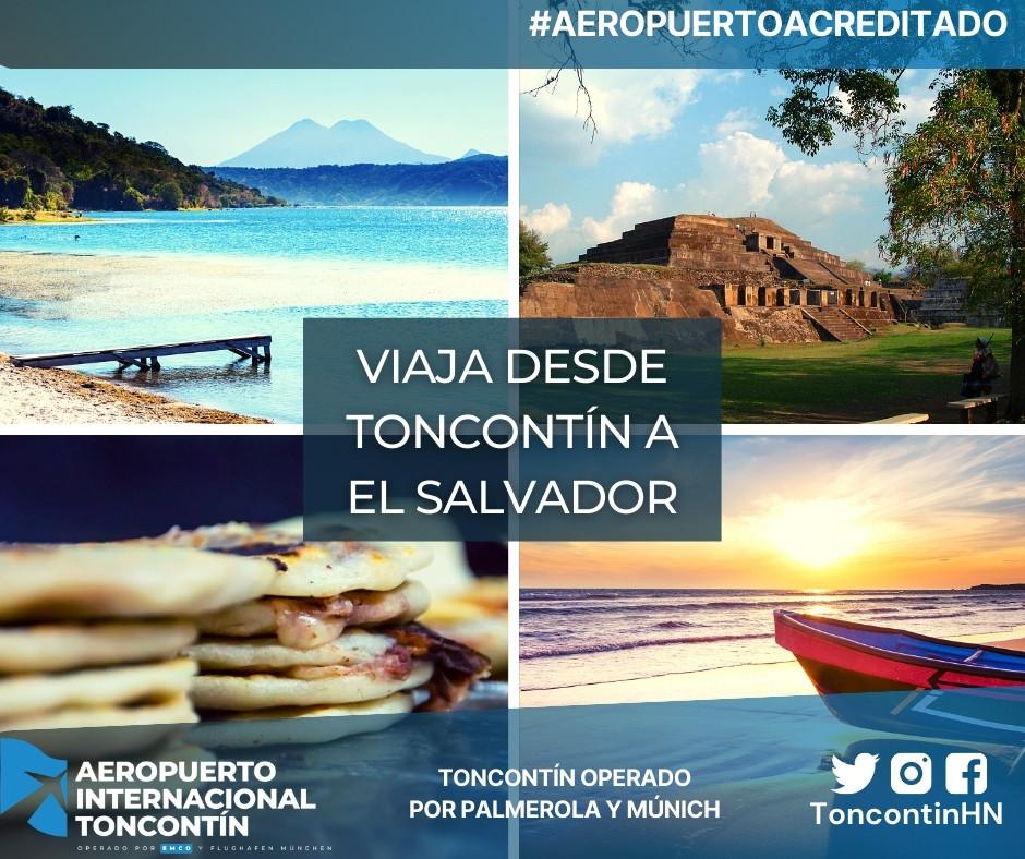 Aeropuerto-Tegucigalpa-Honduras-Toncontín-Conexión-El Salvador