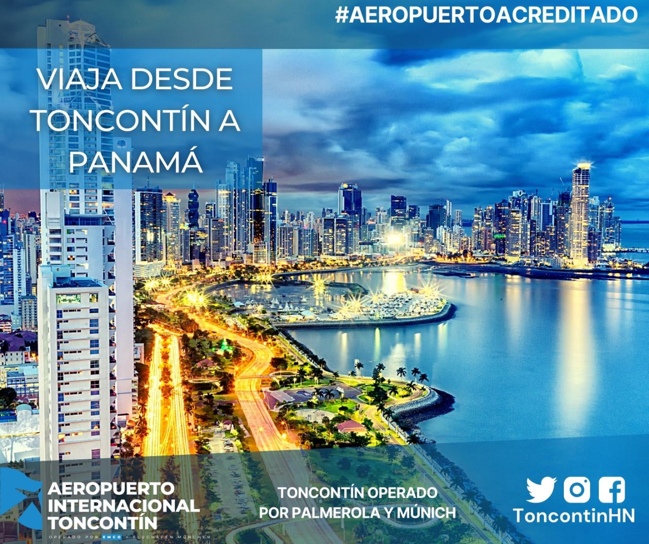 Aeropuerto-Tegucigalpa-Honduras-Toncontín-Conexión-Panamá